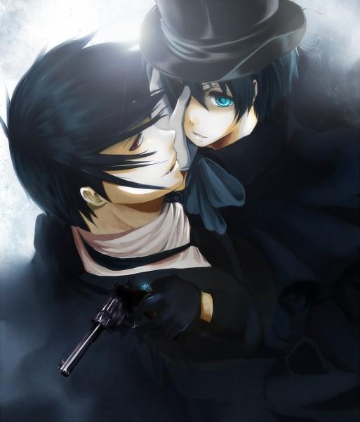 Tags: Anime, Pikeish, Kuroshitsuji, Ciel Phantomhive, Sebastian Michaelis, Black Butler
