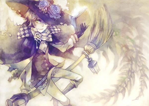 Tags: Anime, Kuroyuki, Sidesaddle, Pixiv, Original