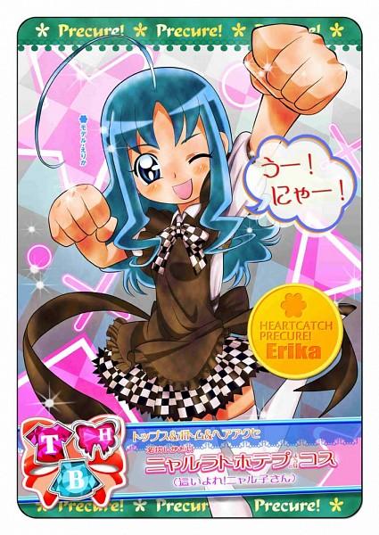 Tags: Anime, Tomoro 01, Heartcatch Precure!, Kurumi Erika, Nyarlko (Cosplay), Fanart From Pixiv, Pixiv, Fanart