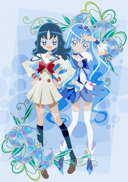 Tags: Anime, Wanco, Heartcatch Precure!, Kurumi Erika, Cure Marine, Pixiv, Fanart