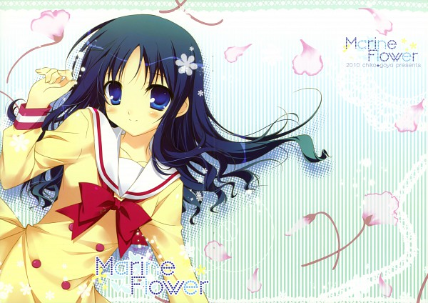 Tags: Anime, Chikotam, Heartcatch Precure!, Marine Flower, Kurumi Erika, Scan