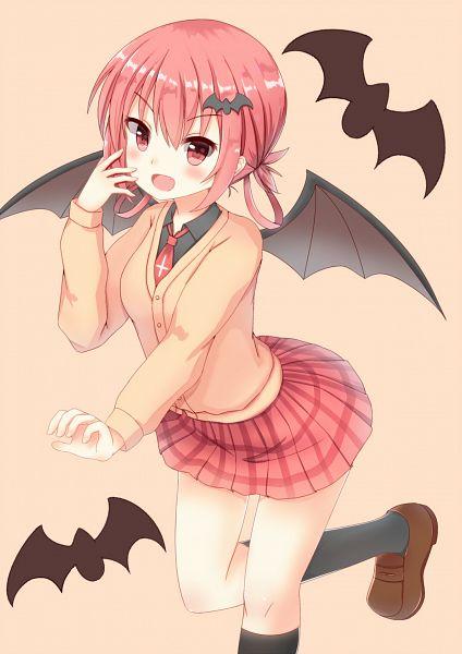 Tags: Anime, Pixiv Id 3900863, Gabriel Dropout, Kurumizawa Satanichia McDowell, Fanart From Pixiv, Pixiv, Fanart