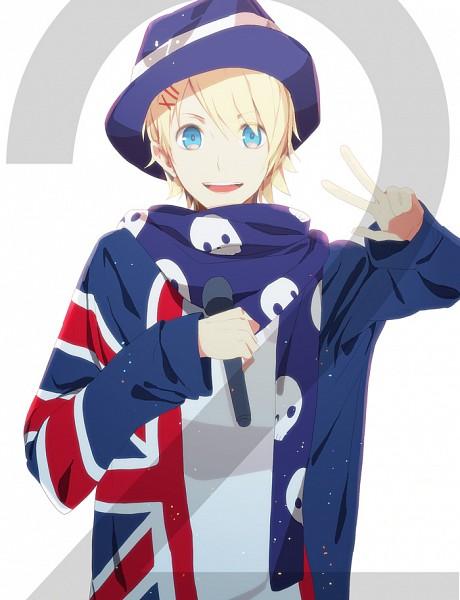Tags: Anime, Okazaki Oka, Uta no☆prince-sama♪, Kurusu Shou, Flag Print, Pixiv, Fanart