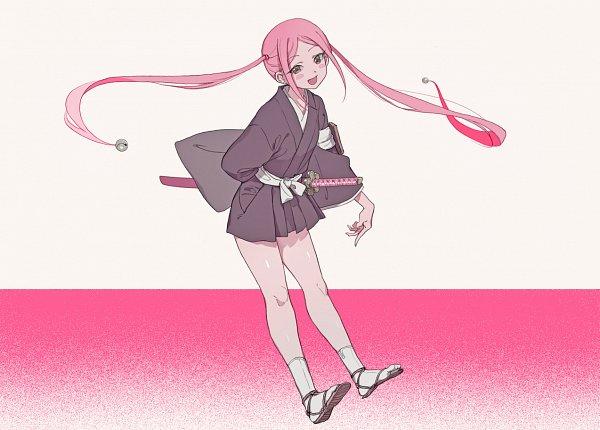Tags: Anime, Okihana, BLEACH, Kusajishi Yachiru, Fanart, Fanart From Pixiv, Pixiv