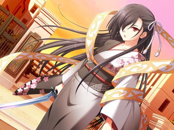 Tags: Anime, Lass, 11eyes, Kusakabe Misao (11eyes)