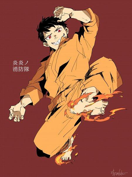 Tags: Anime, Pixiv Id 15636147, Enen no Shouboutai, Kusakabe Shinra, Pixiv, Fanart, Fanart From Pixiv