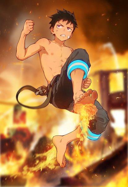 Tags: Anime, Pixiv Id 3110062, Enen no Shouboutai, Kusakabe Shinra