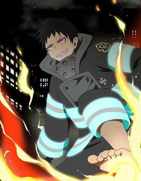 Tags: Anime, Pixiv Id 26504155, Enen no Shouboutai, Kusakabe Shinra