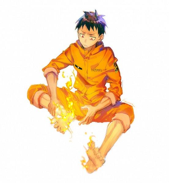 Tags: Anime, Pixiv Id 13762219, Enen no Shouboutai, Kusakabe Shinra
