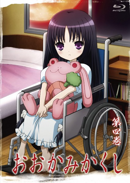Tags: Anime, Ookamikakushi, Kuzumi Mana, Official Art, Mobile Wallpaper