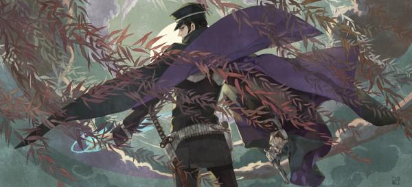 Tags: Anime, Nobingo, Devil Summoner: Raidou Kuzunoha Vs. The Soulless Army, Kuzunoha Raidou the XIV, Facebook Cover