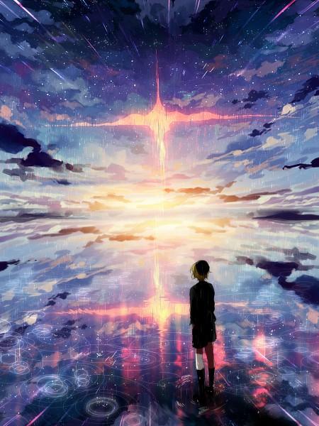 Tags: Anime, Kyanarinu, Pixiv, Original, Mobile Wallpaper