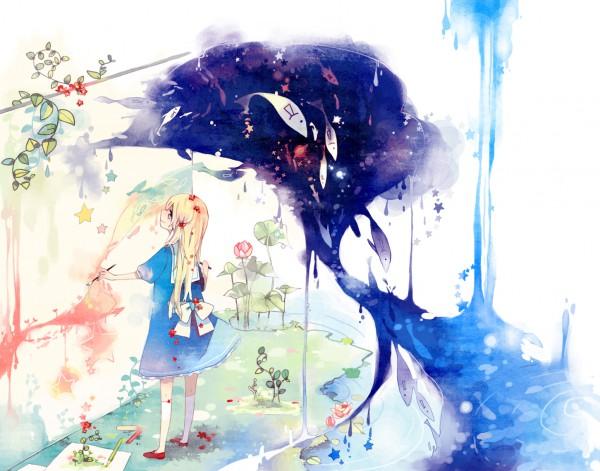Tags: Anime, Kyang692, Pixiv Girls Collection, Pixiv Girls Collection 2010, Brush, Painting (Action), Oekaki Musume, Pixiv, Original