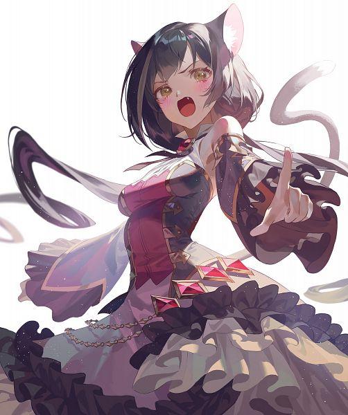 Tags: Anime, Fajyobore, Princess Connect! Re:Dive, Kiruya Momochi, Kyaru, Fanart From Pixiv, Pixiv, Fanart, Karyl
