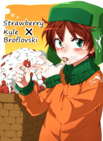 Tags: Anime, Umemiya Tadashi, South Park, Kyle Broflovski, Pixiv, Mobile Wallpaper