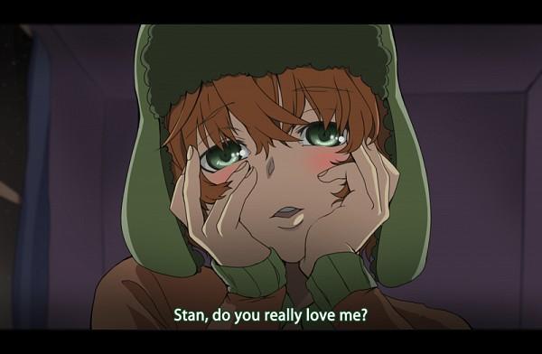 Tags: Anime, South Park, Kyle Broflovski, Mirai Nikki (Parody), Pixiv, Fanart