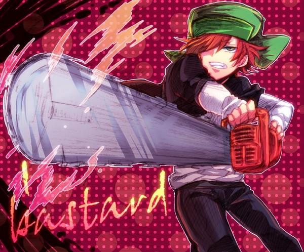 Tags: Anime, Chocora11, South Park, Kyle Broflovski, Chainsaw, Pixiv, Fanart