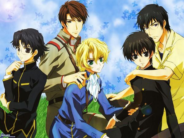 Tags: Anime, Kyo Kara Maoh!, Shibuya Yuri, Murata Ken, Wolfram von Bielefeld, Conrad Weller, Official Art