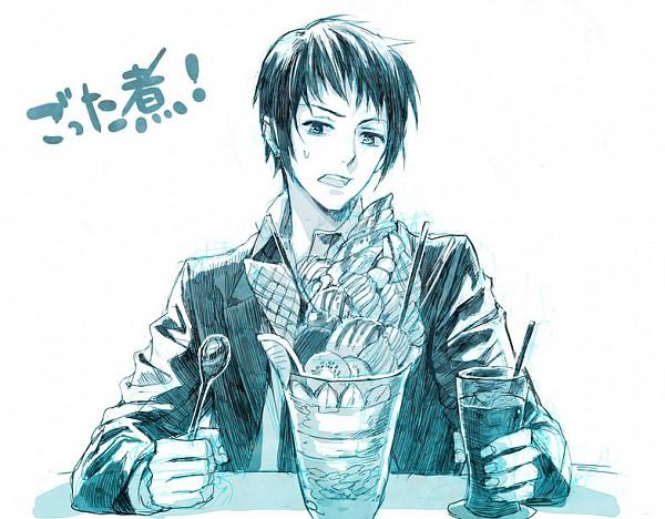 Tags: Anime, 00111 (Artist), Suzumiya Haruhi no Yuuutsu, Kyon, Fanart, Pixiv