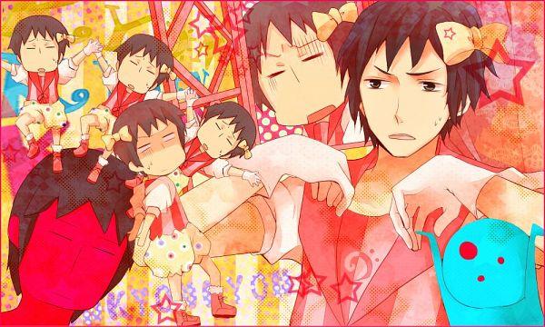 Tags: Anime, Itokena Hiroshi, Suzumiya Haruhi no Yuuutsu, Kyon, Baggy Pants, Puffy Shorts, PONPONPON