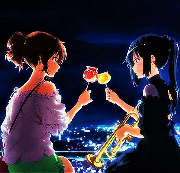 Tags: Anime, Kyoto Animation, Hibike! Euphonium, Kousaka Reina, Oumae Kumiko