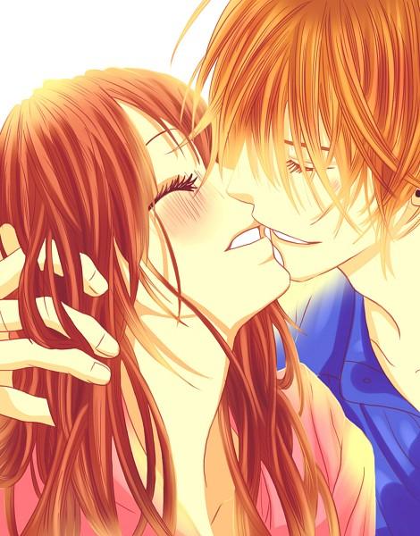 Tags: Anime, Minami Kanan, Kyou Koi wo Hajimemasu, Official Art, Manga Cover, Scan, Today We'Ll Start Our Love