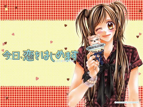Tags: Anime, Minami Kanan, Kyou Koi wo Hajimemasu, Official Art, Official Wallpaper, Wallpaper, Today We'Ll Start Our Love