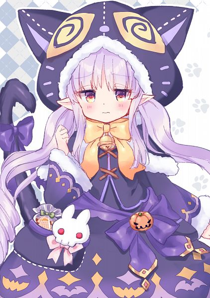 Tags: Anime, Pixiv Id 22348936, Princess Connect, Hikawa Kyouka, Kyouka (Princess Connect), Paws Print