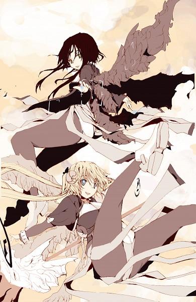 Tags: Anime, Hafuri, Kyoukai Senjou no Horizon, Margot Knight, Naruze Malga, Horizon On The Middle Of Nowhere