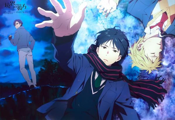 Tags: Anime, Kadowaki Miku, Kyoto Animation, Kyoukai no Kanata, Fujima Miroku, Nase Hiroomi, Kanbara Akihito, Magazine (Source), PASH!, Scan, Official Art, Beyond The Boundary