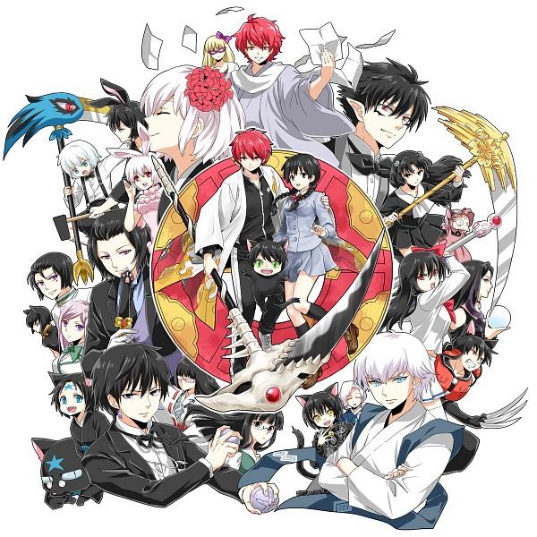 Tags: Anime, Pixiv Id 3529837, Kyoukai no Rinne, Rokudou Rinne, Suzu (Kyoukai no Rinne), Rokudou Sabato, Shouma (Kyoukai no Rinne), Matsugo (Kyoukai no Rinne), Juumonji Tsubasa, Kain (Kyoukai no Rinne), Masato (Kyoukai no Rinne), Shima Renge, Rokumon (Kyoukai no Rinne)