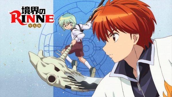 Tags: Anime, Kyoukai no Rinne, Shouma (Kyoukai no Rinne), Rokudou Rinne, 1600x900 Wallpaper, Wallpaper
