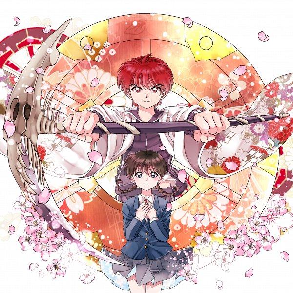 Tags: Anime, Pixiv Id 6096383, Kyoukai no Rinne, Rokudou Rinne, Mamiya Sakura