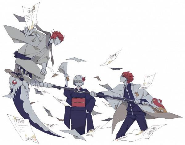 Tags: Anime, Pixiv Id 1978658, Kyoukai no Rinne, Rokudou Rinne, Tamako (Kyoukai no Rinne), Rokudou Sabato, Grandmother, Pixiv, Fanart