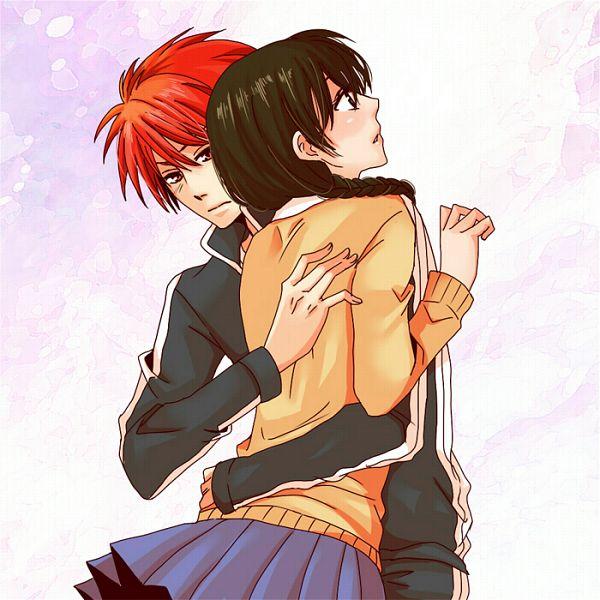 Tags: Anime, Kabayakiii, Kyoukai no Rinne, Mamiya Sakura, Rokudou Rinne, Fanart, Pixiv
