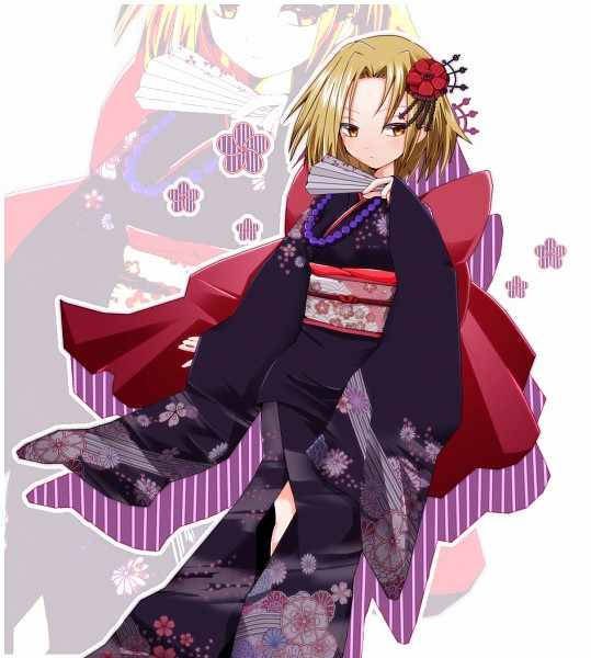 Tags: Anime, Shaman King, Kyouyama Anna