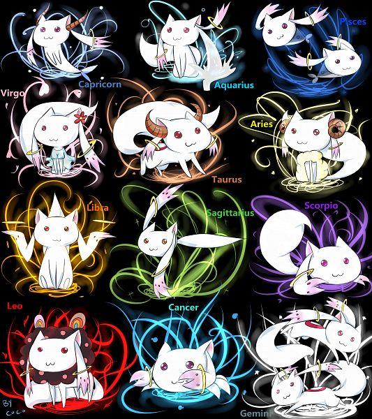 Tags: Anime, Coco (Pixiv Id 2987074), Mahou Shoujo Madoka☆Magica, Kyubee, Pisces, Cancer, Capricorn (Zodiac), Aquarius, Gemini, Aries, Sagittarius, Taurus, Charlotte (Madoka Magica) (Cosplay)