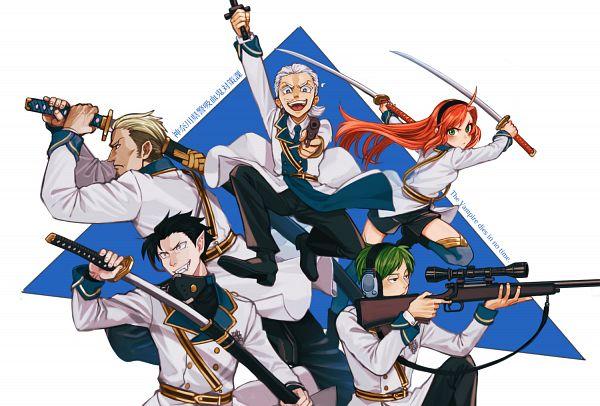 Tags: Anime, Pixiv Id 21083545, Kyuuketsuki Sugu Shinu, Hinaichi, Handa Tou, Sagyou, Hiyoshi (Kyuuketsuki Sugu Shinu), Character Request, Pixiv, Fanart, Fanart From Pixiv, The Vampire Dies In No Time.