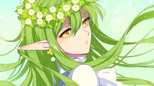 Tags: Anime, L (Pixiv44767), Aqua Background, Pixiv, Original, Facebook Cover