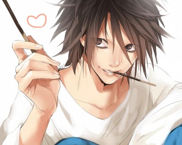 l lawliet death note image 1631565 zerochan anime