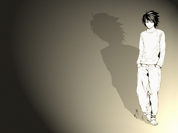 Tags: Anime, DEATH NOTE, L Lawliet, Artist Request