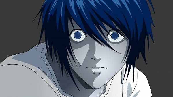 Tags: Anime, DEATH NOTE, L Lawliet, HD Wallpaper, Artist Request, Wallpaper