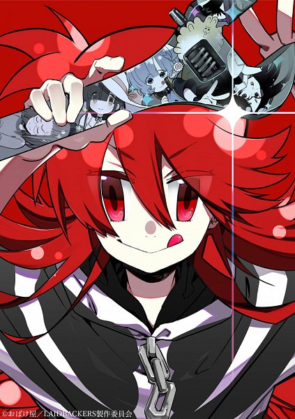 Tags: Anime, Tsuchiya Kei, Studio Gokumi, LAIDBACKERS, Kusanagi K., Maisaka Mai, Honamanuma Kumi, Mitsuno Harami, Arnelia, Ran (LAIDBACKERS), Wrench, Official Art, DVD (Source)