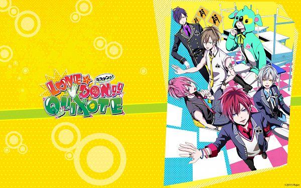 Tags: Anime, Ayase Retsu, Rejet, LOVE★DON!!★QUIXOTE, Reno (LOVE★DON!!★QUIXOTE), Sosuke (LOVE★DON!!★QUIXOTE), Monami, Roy (LOVE★DON!!★QUIXOTE), Shizuku (LOVE★DON!!★QUIXOTE), Taichi (LOVE★DON!!★QUIXOTE), Official Art, Official Wallpaper, Wallpaper