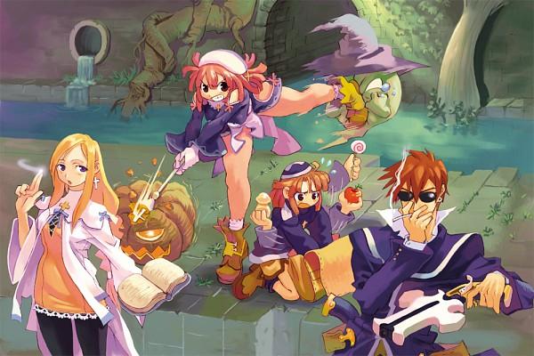 Tags: Anime, Nomura Ryouji, Nippon Ichi Software, La Pucelle: Tactics, Prier, Alouette, Culotte (La Pucelle), Croix Raoul, Official Art
