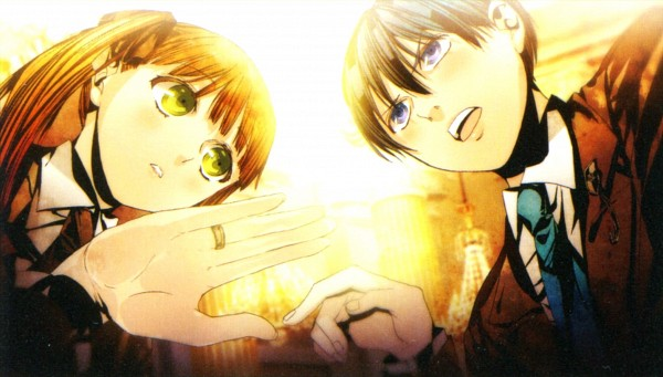 Tags: Anime, Sarachi Yomi, HuneX, La storia della Arcana Famiglia, Nova (Arcana Famiglia), Felicita, Scan, Wallpaper, Facebook Cover, Official Art