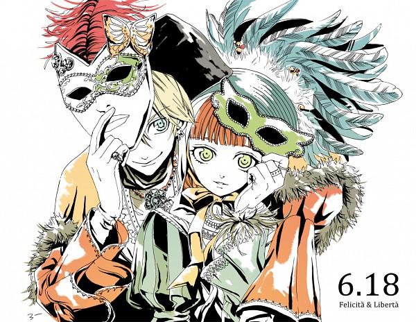 Tags: Anime, Pixiv Id 109961, HuneX, La storia della Arcana Famiglia, Felicita, Liberta, Fanart From Pixiv, Pixiv, Fanart