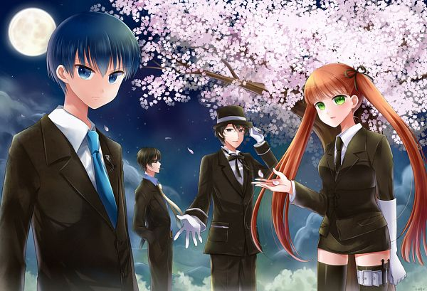 Tags: Anime, Naomi (Pixiv159702), HuneX, La storia della Arcana Famiglia, Jolly (Arcana Famiglia), Luca (Arcana Famiglia), Felicita, Nova (Arcana Famiglia)