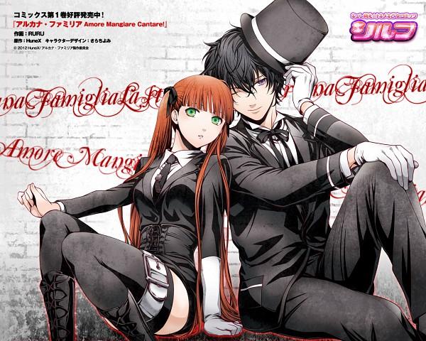 Tags: Anime, Ruru (Artist), HuneX, La storia della Arcana Famiglia, Luca (Arcana Famiglia), Felicita, Wallpaper