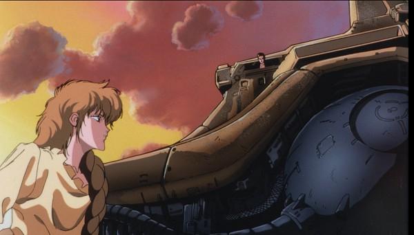 Tags: Anime, Yuki Nobuteru, Nagano Mamoru, Sunrise (Studio), The Five Star Stories, Voards Viewlard (The Five Star Stories), Ladios Sopp, Scan, Screenshot